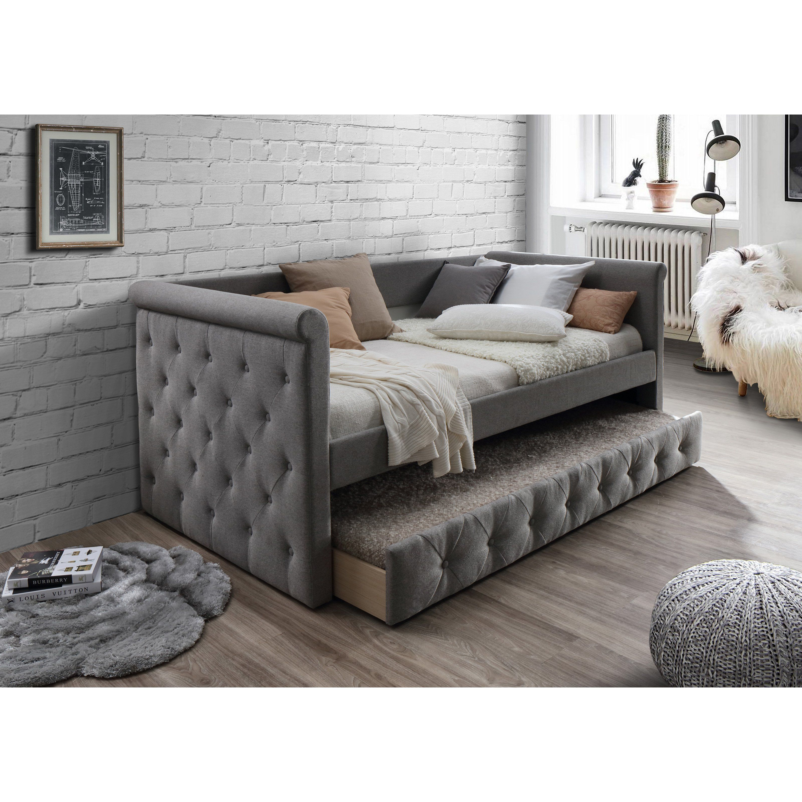 Home Source Industries Tufted Upholstered Daybed with