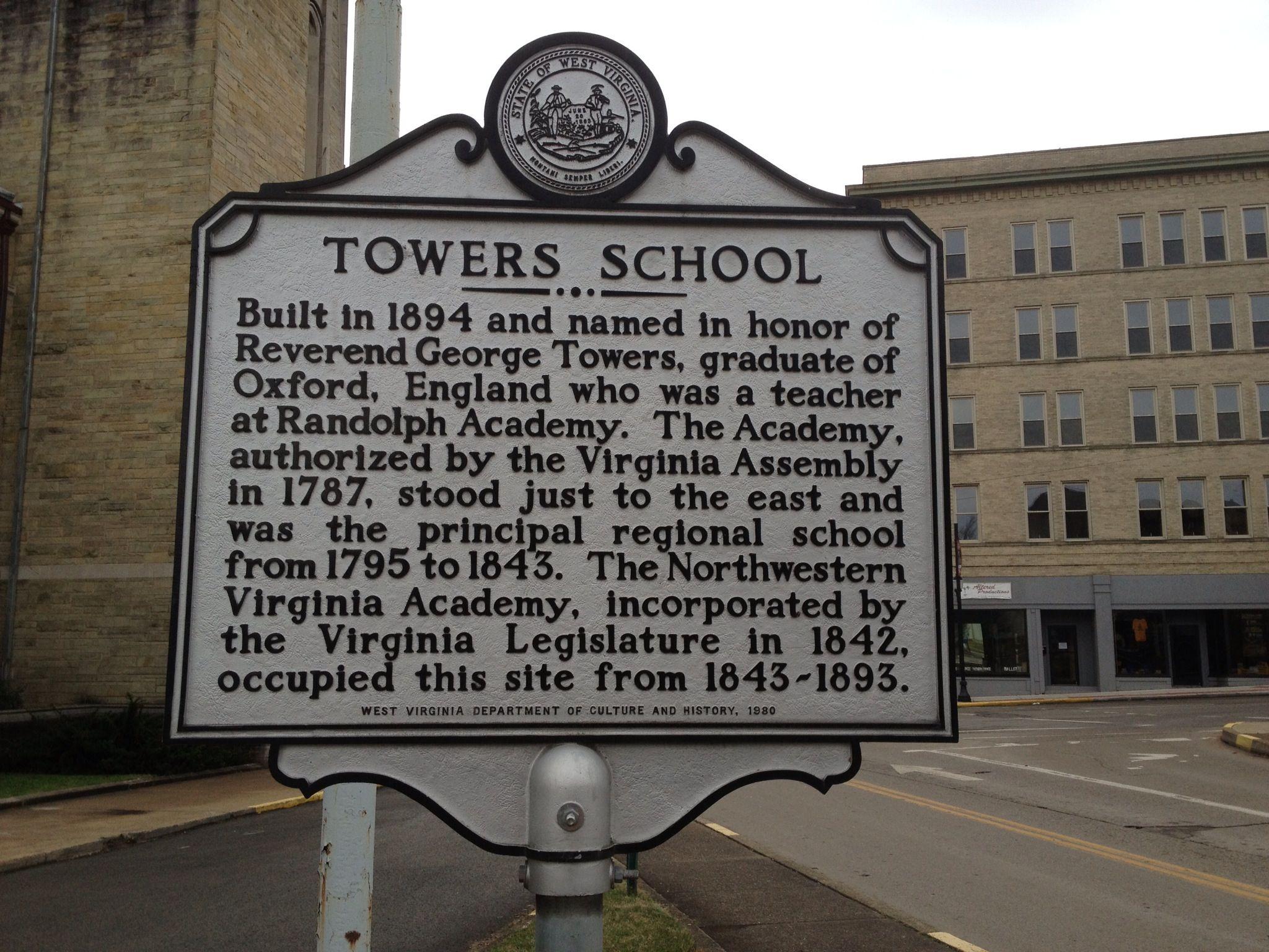 Towers School Clarksburg Wv My Mom Went To School Here West Virginia History West Virginia Mountains Clarksburg