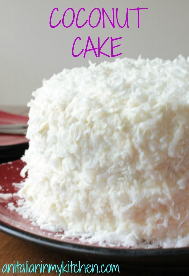 Best 25 Coconut Cake From Scratch Ideas On Pinterest