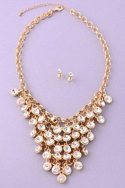 Fame Accessories > Necklaces > #25545SET − LAShowroom.com