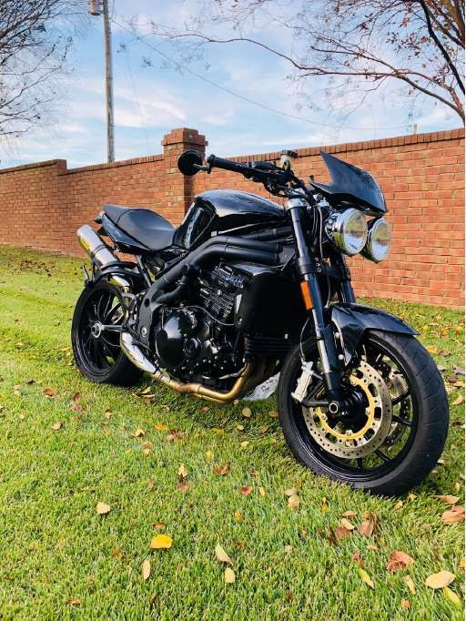 Check Out This 2009 Triumph Speed Triple 1050 Listing In