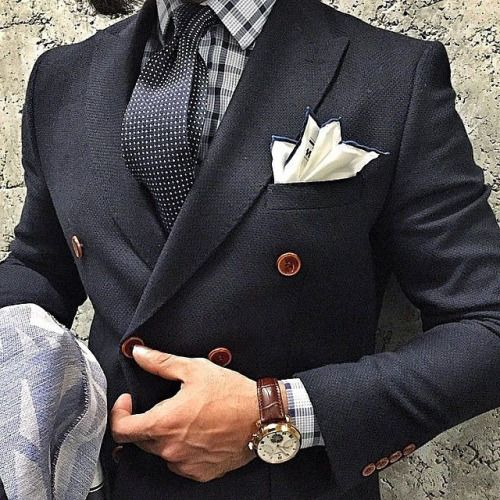 Men's Pocket Square Inspiration #4 | MenStyle1- Men's Style Blog