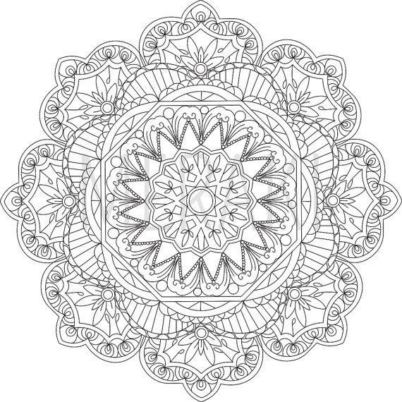 43++ Anxiety mandala coloring pages pdf trends