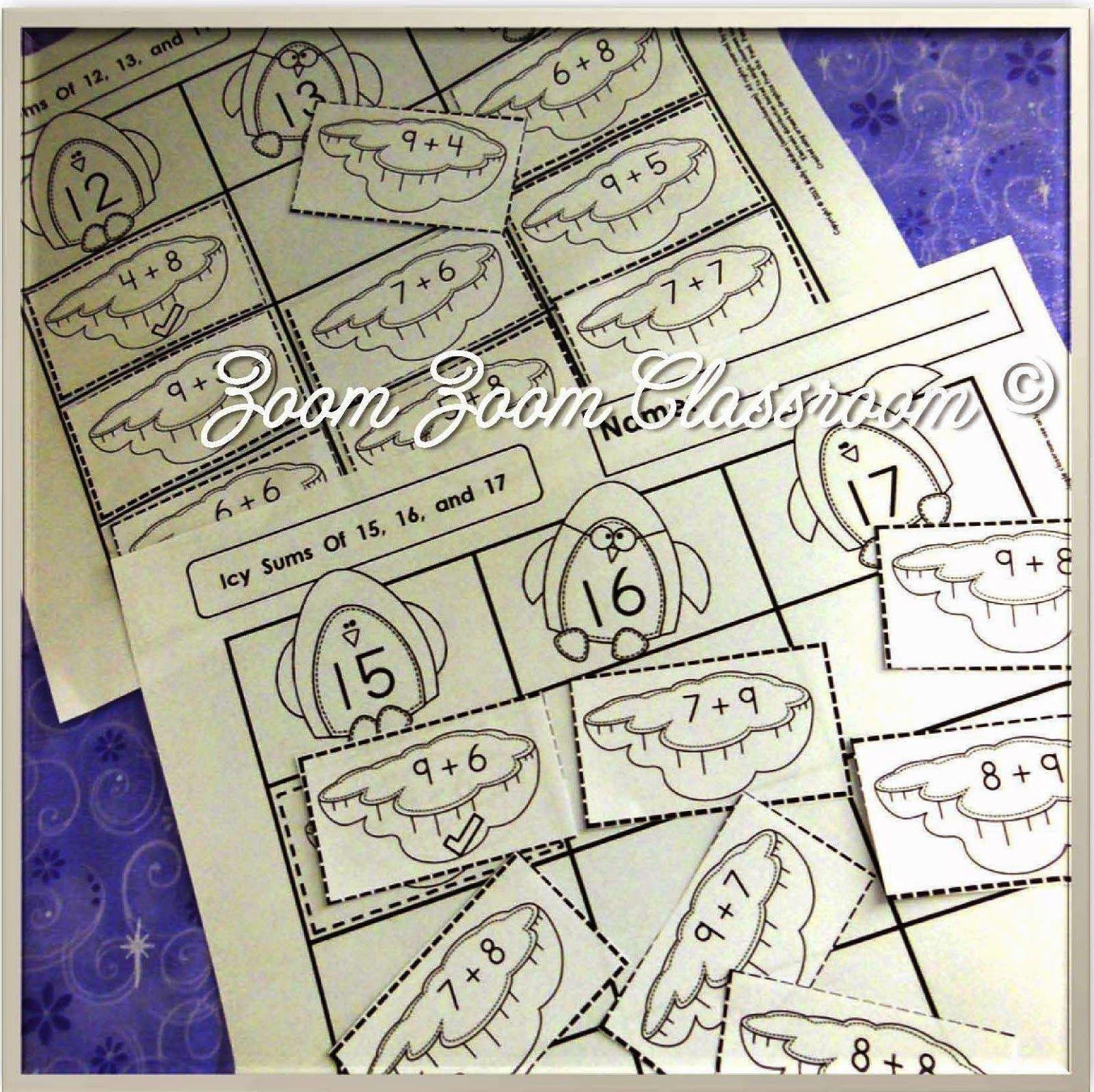 Sorting Activities Build Addition Fluency