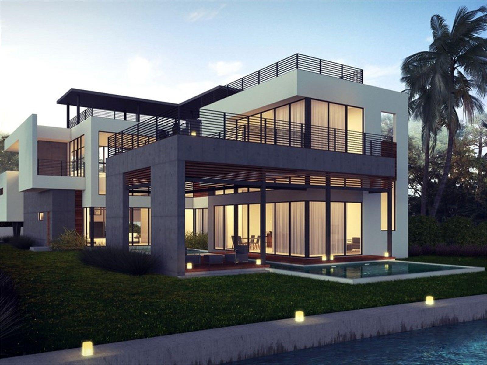 Modern House Exterior Minimalist Dream Homes