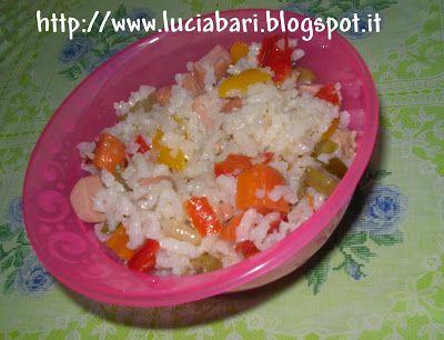 Il Blog di LuciA ed i suoi ConsiglI!: insalata di riso, with our Cup Mimì #Poloplast