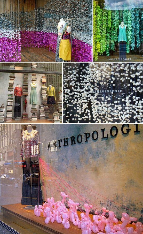 Anthropologie Displays