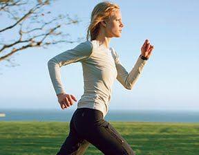 Power walking and speed walking to burn calories.