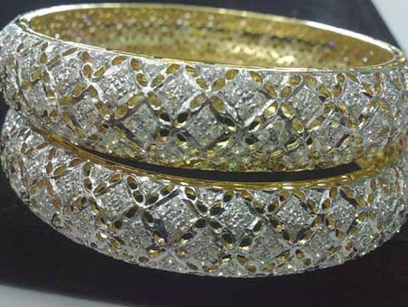 Diamond Bangles — Buy Diamond Bangles Price Diamond