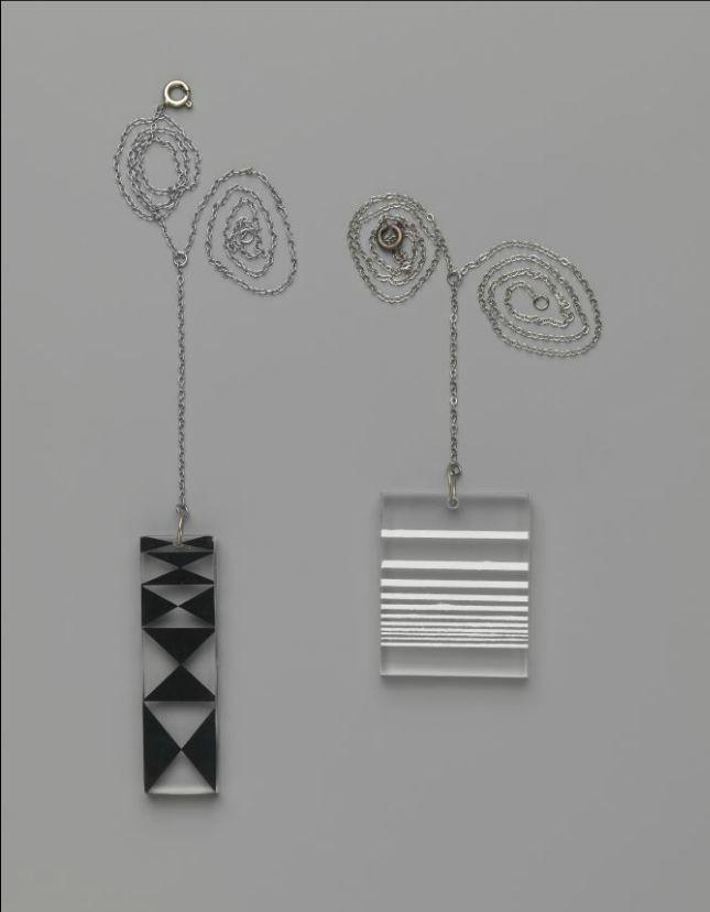 Optik pendants by Wendy Ramshaw