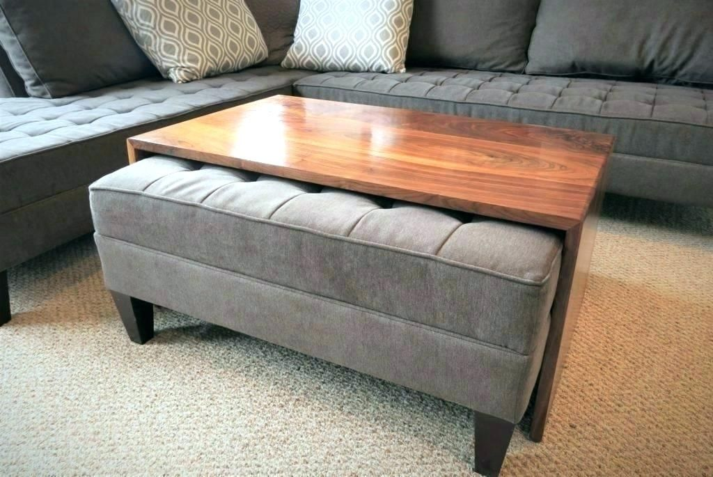 Cheap Coffee Table With Ottomans Underneath Photograph Ottoman Table Coffee Table Wood Leather Ottoman Coffee Table