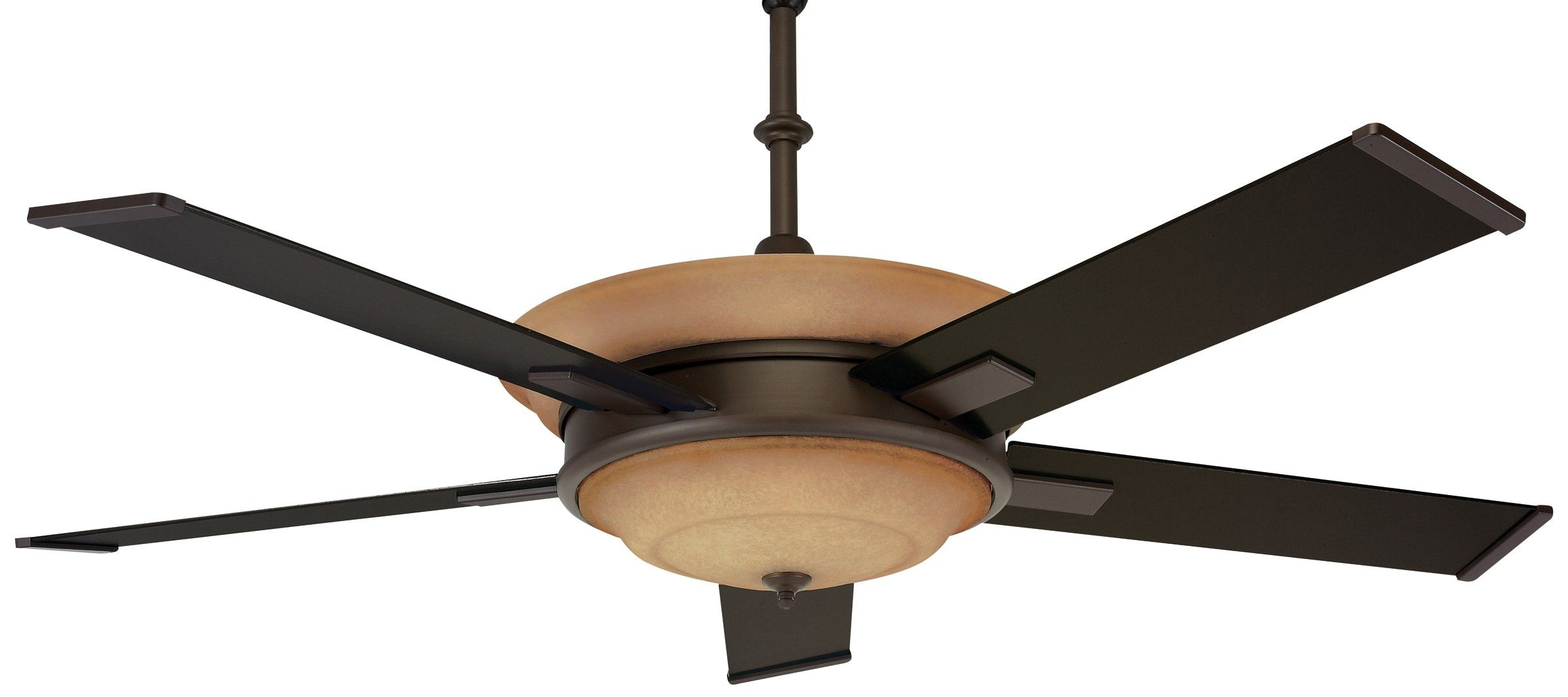 WX ORB Oil Rubbed Bronze fan es with Oil Rubbed Bronze blades