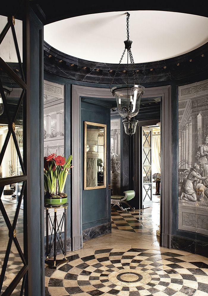 Les plus beaux interieurs de décorateurs à Paris | Pinterest ...