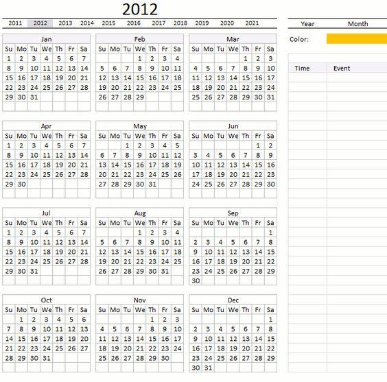 excel calendar Cheat sheets Pinterest - define spreadsheet