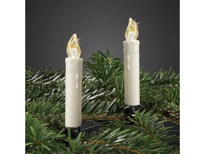Kabellose Led Weihnachtsbaumkerzen Mini 10er Set In 2020 Candles