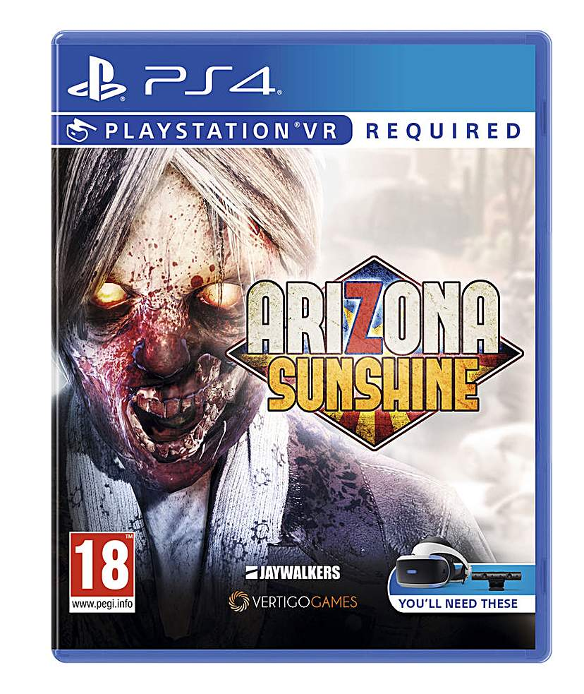 Arizona Sunshine VR PS4 Ps4 vr, Ps4 vr games