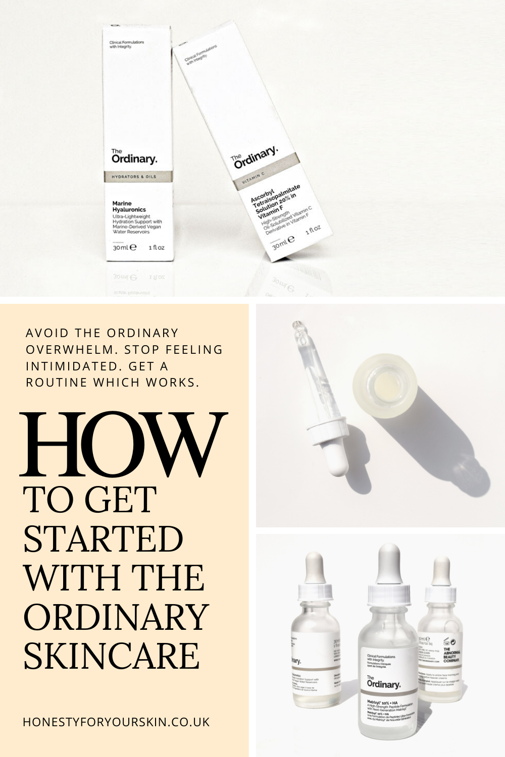 The Ordinary Skincare Routine How to Mix The Ordinary
