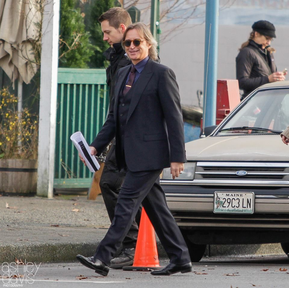 Robert Carlyle on set (January 19, 2016)