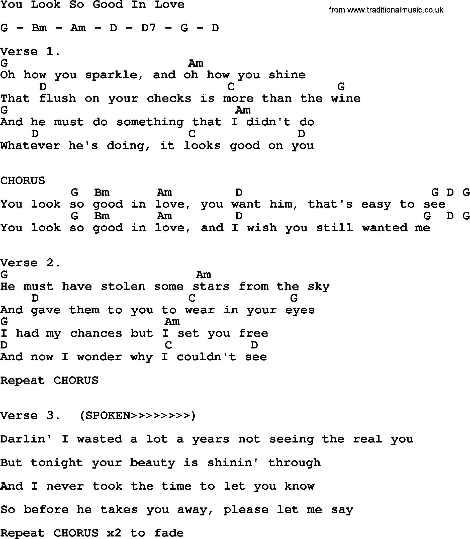 How He Loves Chords   Lyrics and chords, George strait lyrics ...
