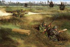 SS Tank Hunters in Russia