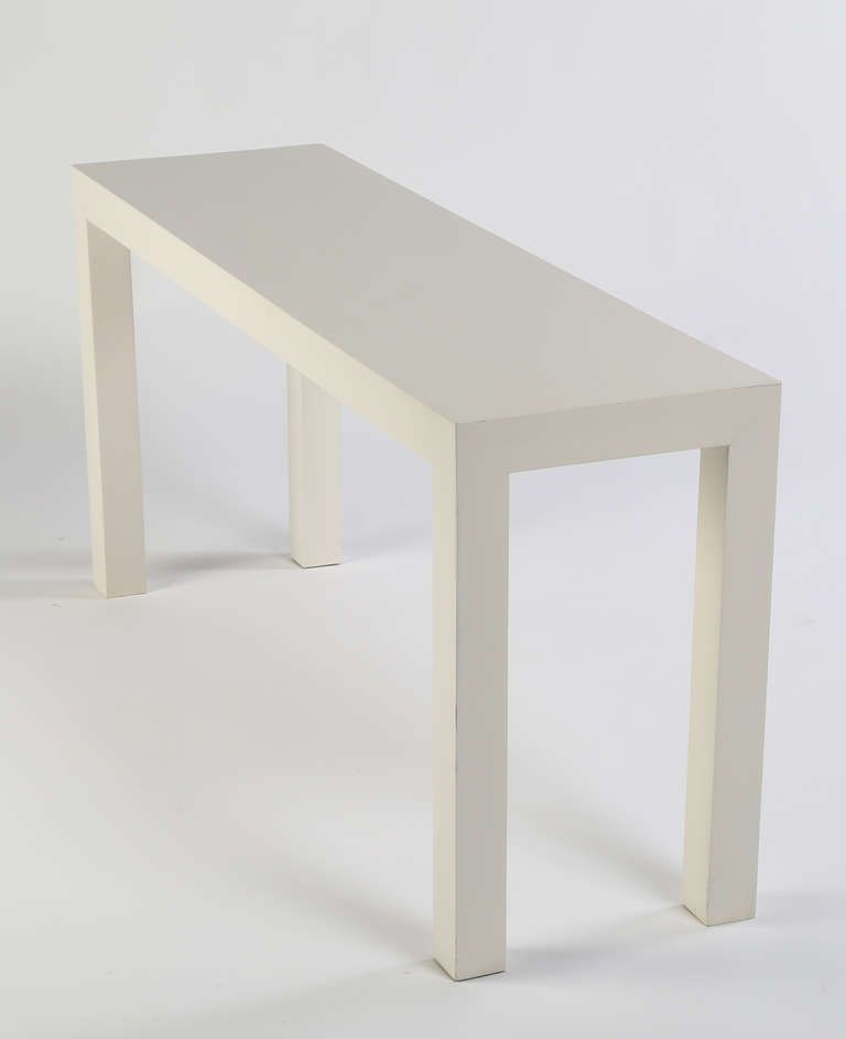 Two Milo Baughman Console Tables From A Unique Collection Of
