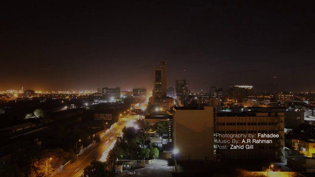 Karachi I.I Chundrigarh Road Timelapse  Photography : Fahadee  Music : A.R RAHMAN  Post : Zahid Gill  Shot on  Canon 60D with Tamron -17-50mm F/2.8