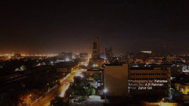 Karachi I.I Chundrigarh Road Timelapse  Photography : Fahadee  Music : A.R RAHMAN  Post : Zahid Gill  Shot on  Canon 60D with Tamron -17-50mm F/2.8