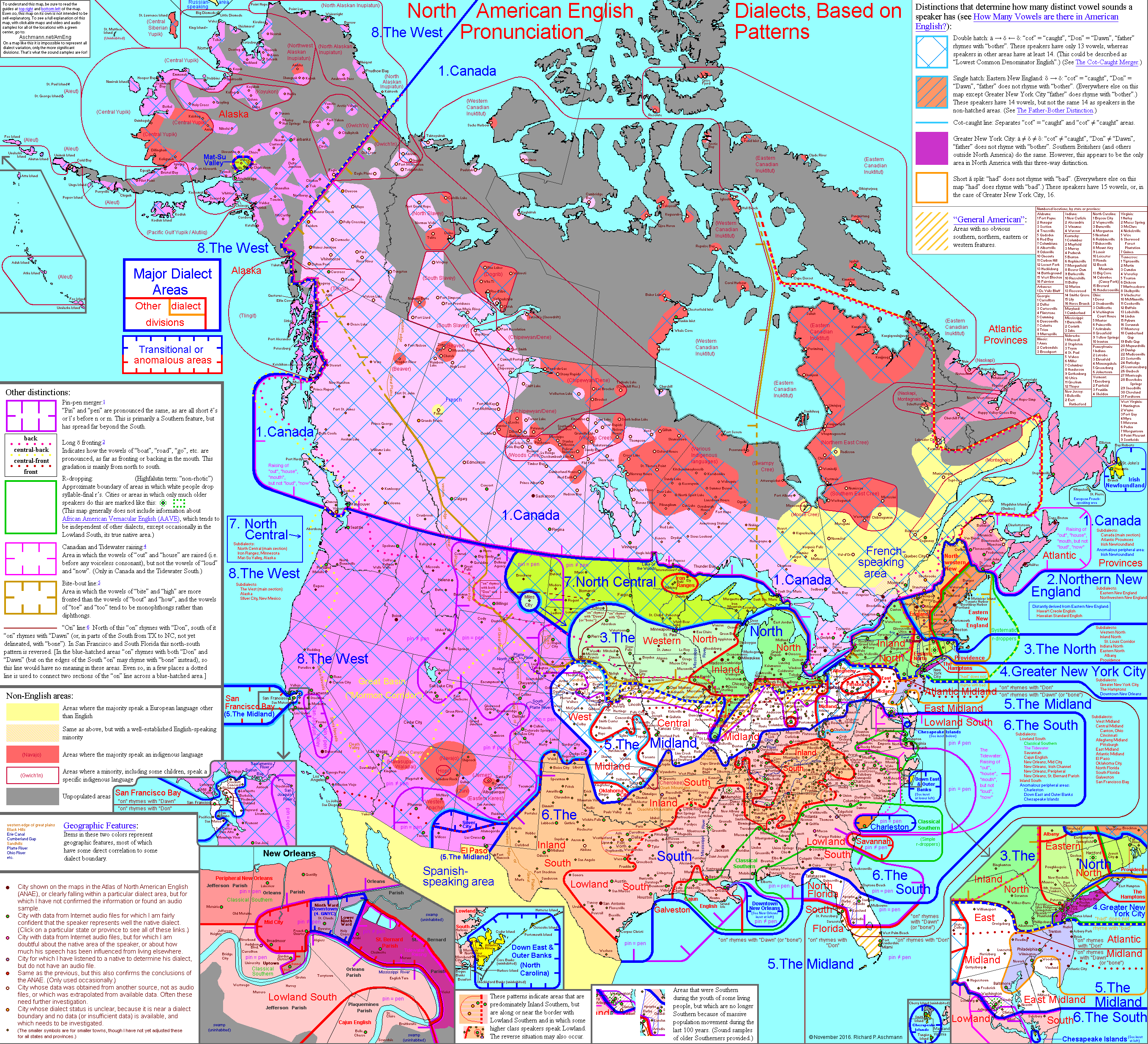 North american english dialects based on pronunciation patterns north american english dialects based on pronunciation patterns gumiabroncs Gallery