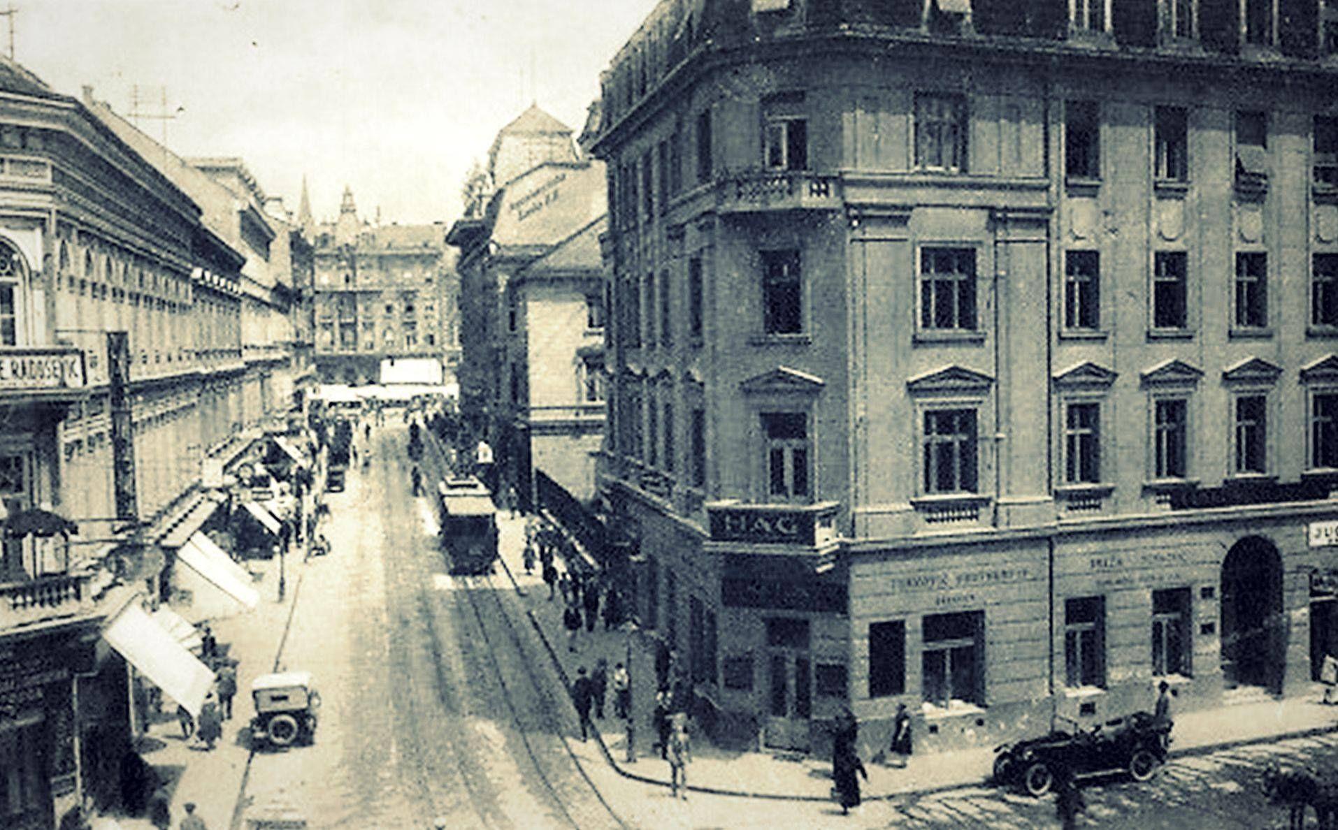 1930 Praska Street Zagreb Oldtimes Oldpictures 20century Blacknwhite Photography Lobagolabnb Zagreb Croatia Zagreb Croatia