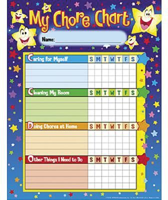 Shop Staples® for Trend Enterprises® Stars Chore\/Progress Chart - progress chart for kids