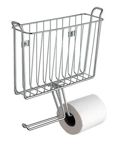 wall mount magazine rack toilet. Love This Chrome Magazine Holder \u0026 Toilet Paper Dispenser On #zulily! #zulilyfinds Wall Mount Rack B
