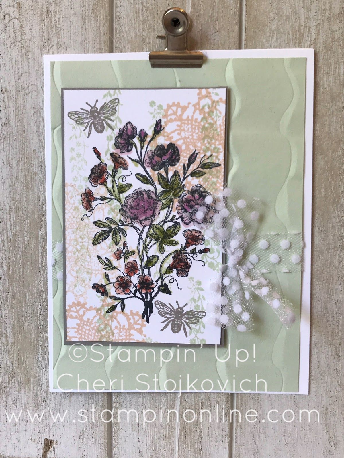 cheri's cards very vintage  20182019 hostess set  some