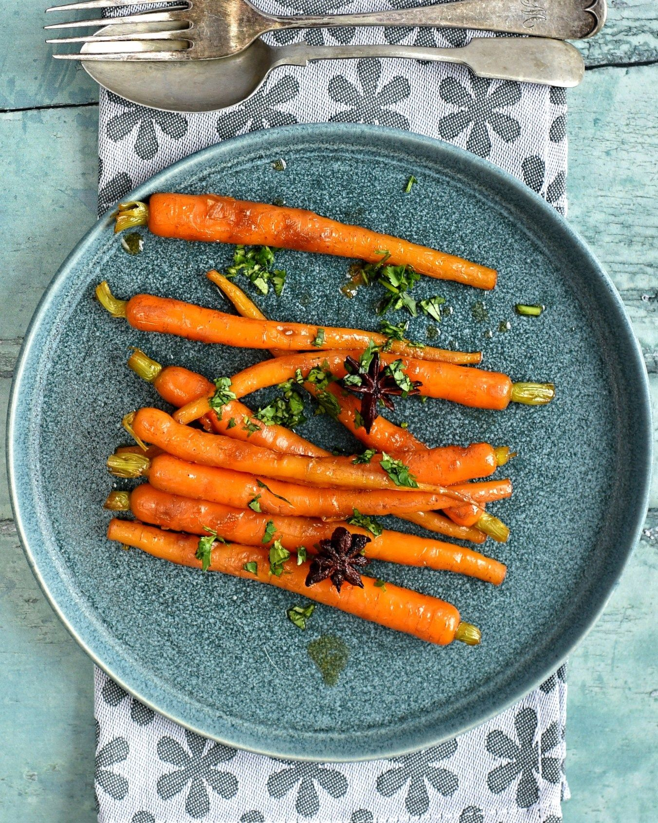 SWEET AND SOUR GLAZED CARROTS VEGAN N VEGETARIAN