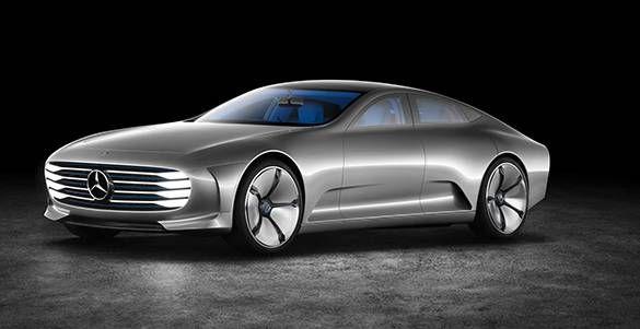 The New Mercedes Benz Concept Iaa Concepts Pinterest Concept