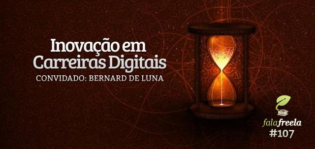 """Convidamos Bernard De Luna (head de produto no videolog e fundador do freteiros.com) para falar sobre o papel do desenvolvedor em uma equipe de produto ou startup, mas acabamos apresentando um panorama completo sobre inovação em carreiras digitais. Aprenda a pensar no conceito """"full stack"""", como pensar em produto no lugar de função e descubra como """"não"""" se aposentar e imagine-se daqui a 10 anos!"""