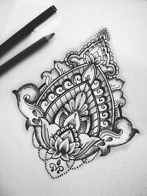 Lotus Mandala Tattoo On Pinterest Mandala Tattoo