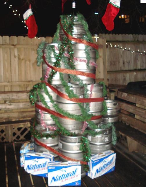 White Trash Christmas Party Ideas Part - 19: Christmas Tree