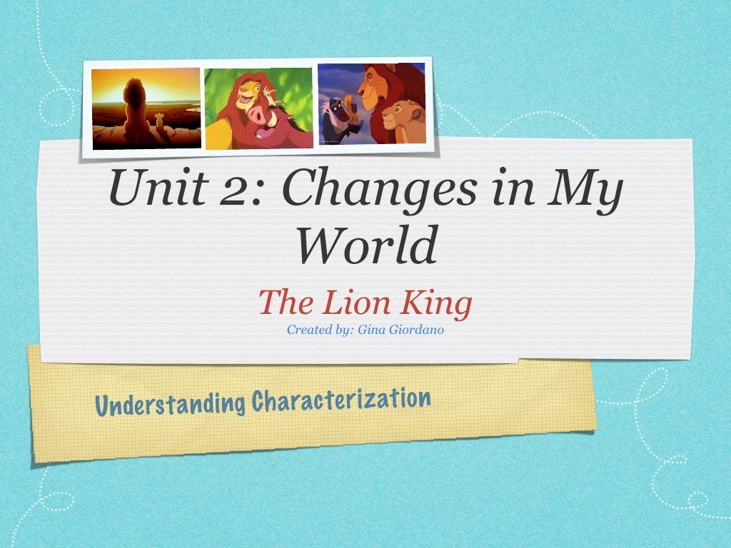 springboard-lesson-on-characterization by aquagigi via Slideshare