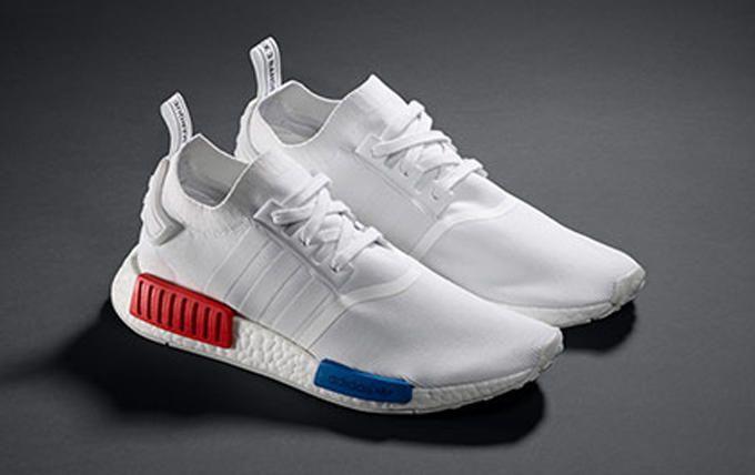 Adidas NMD Runner PK White Red Blue  0976bcf19