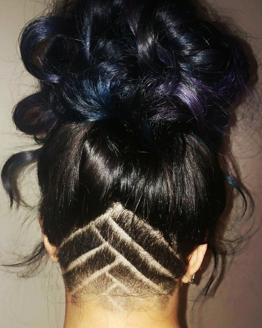 undercut design hair