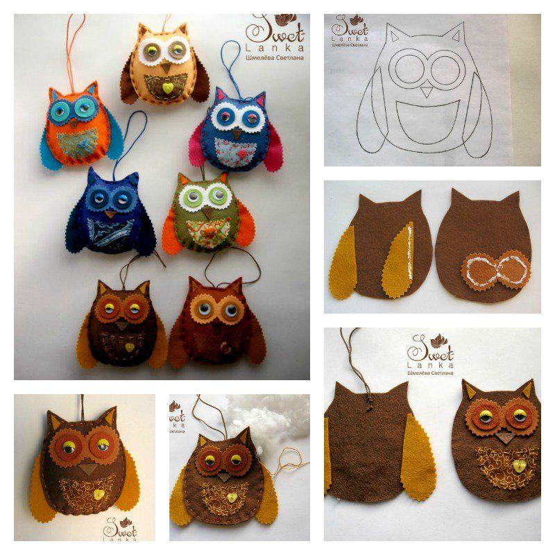 DIY Cute Felt Owl Lavender Sachet   Crafts- - Felt   Pinterest ...