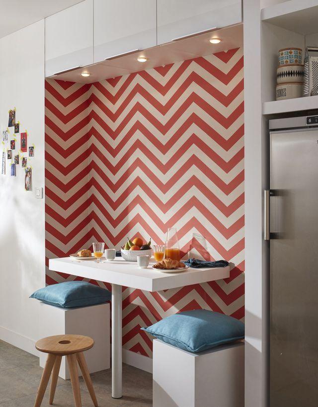 12+ Papier peint cuisine rouge trends