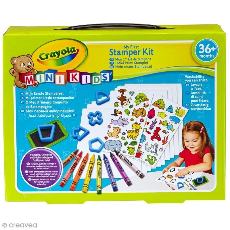 Mi primer kit de sellos Crayola Mini Kids