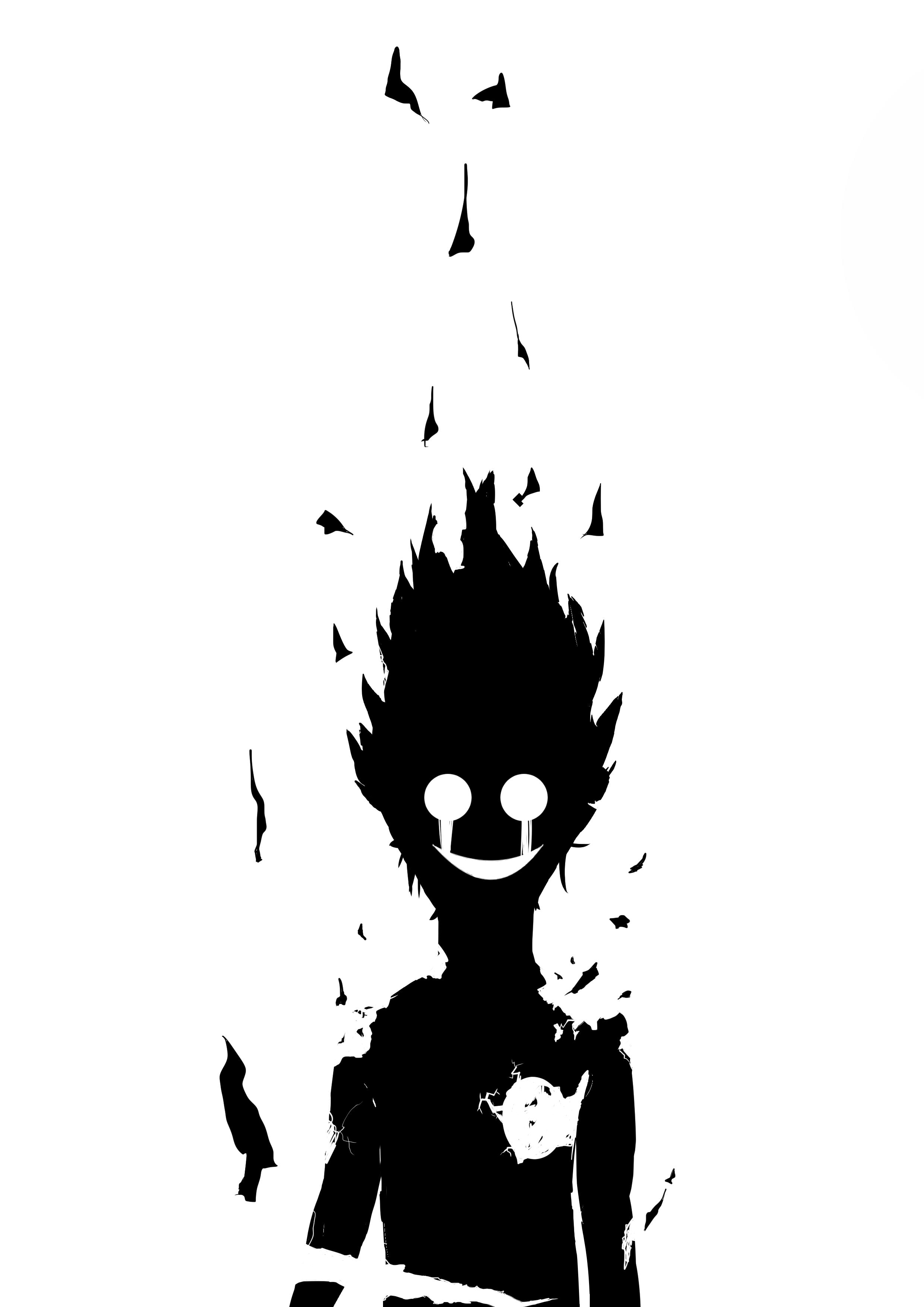 33, best, free, black, and, white, anime. Dark anime boy & manga black and white | Mob psycho 100 ...