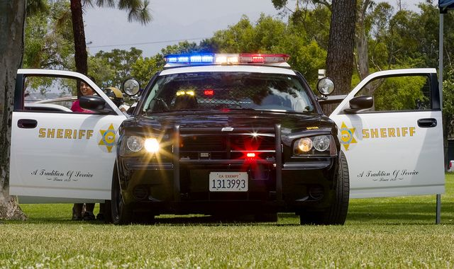 Los Angeles County Sheriff S Dept By Code20photog Via Flickr Police Cars Police Emergency Vehicles