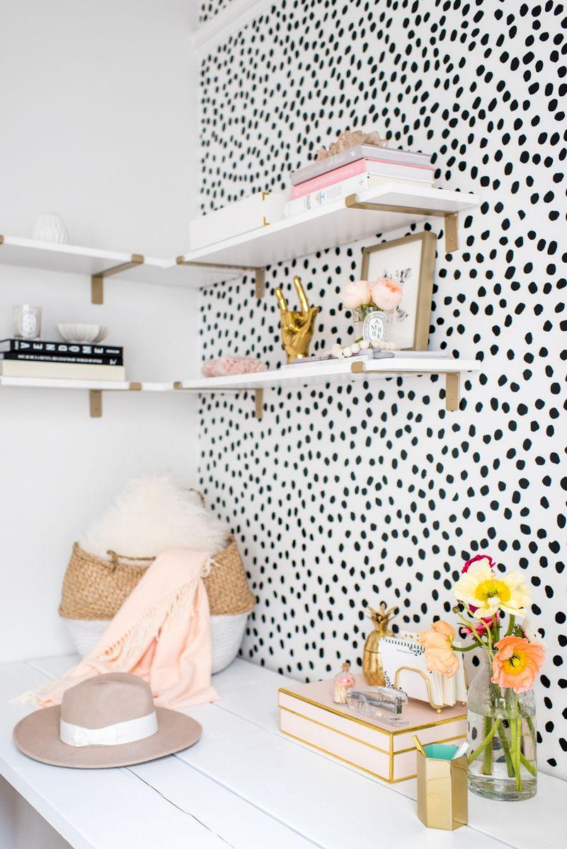Irregular Dots Playroom Ideas Cute dorm rooms