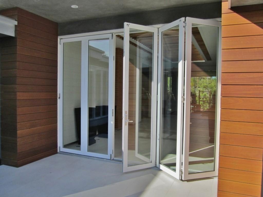 Puertas plegadizas ocupan poco espacio deco doors puertas exterior french sliding glass doors with best decorating ideas rubansaba