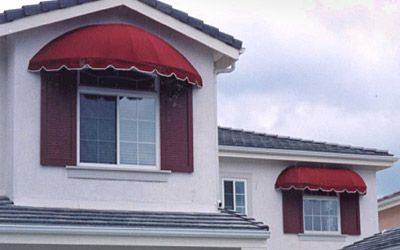 Sunbrella Fabric Dome Awnings Built For Homes In California Not All Are