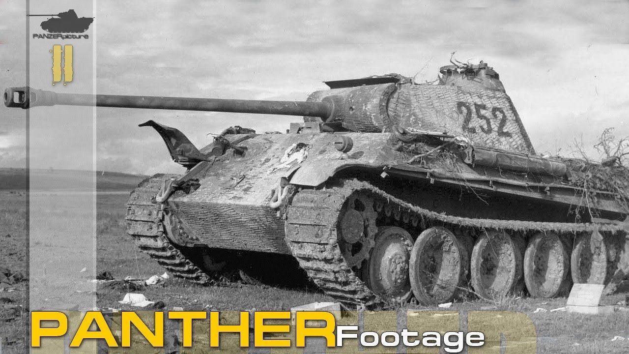 15minutes of panther ww2 footage part 2 panther panzerkampwagen v