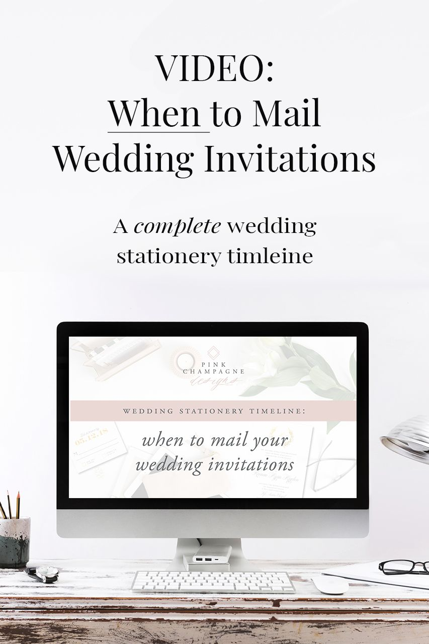 When To Mail Wedding Invitations Mail Wedding Invitations Wedding Stationery Timeline Wedding Stationery